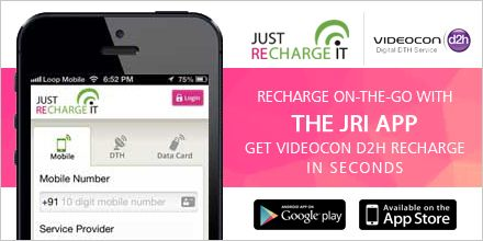 Videocon D2H Recharge Online- Online Videocon D2H/DTH