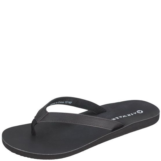 29768c368d7 Get comfort and laid back style with this Airwalk flip-flop sandal. It features  durable upper straps