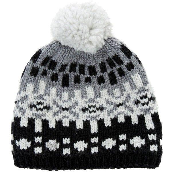e3c4b0bd17f Pre-owned Bogner Knit Pom-Pom Beanie ( 65) ❤ liked on Polyvore ...