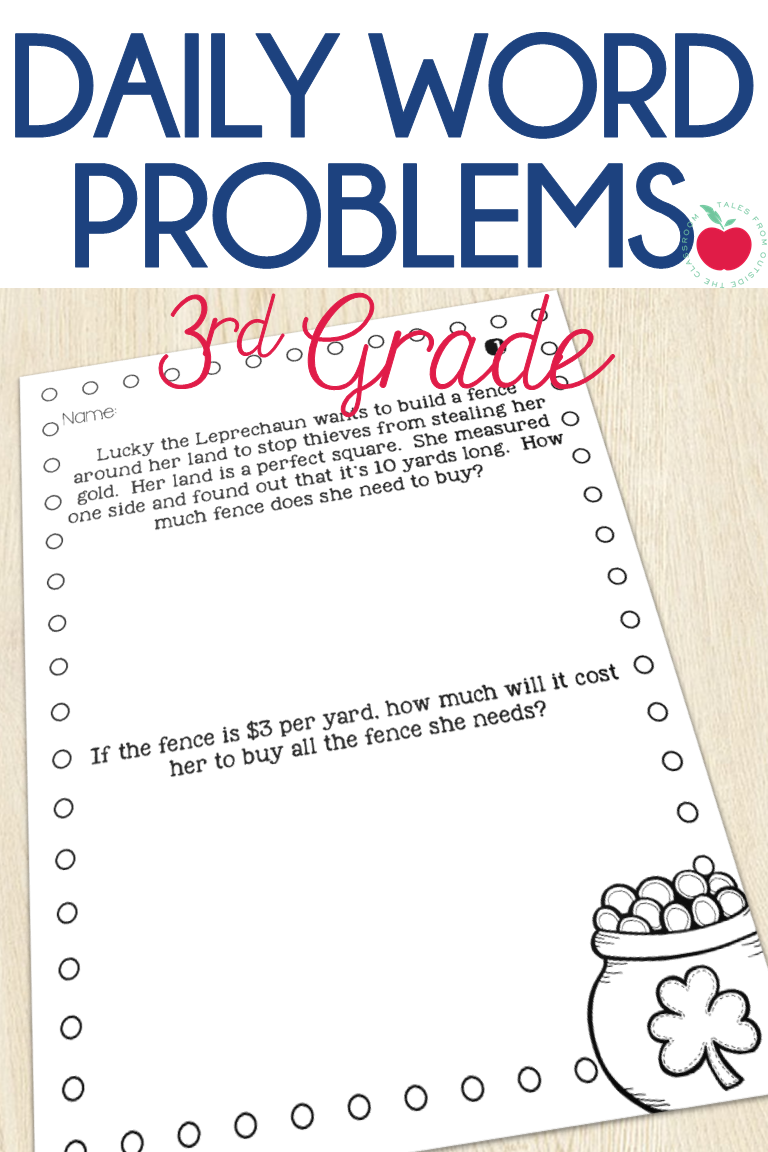 small resolution of Give third graders daily