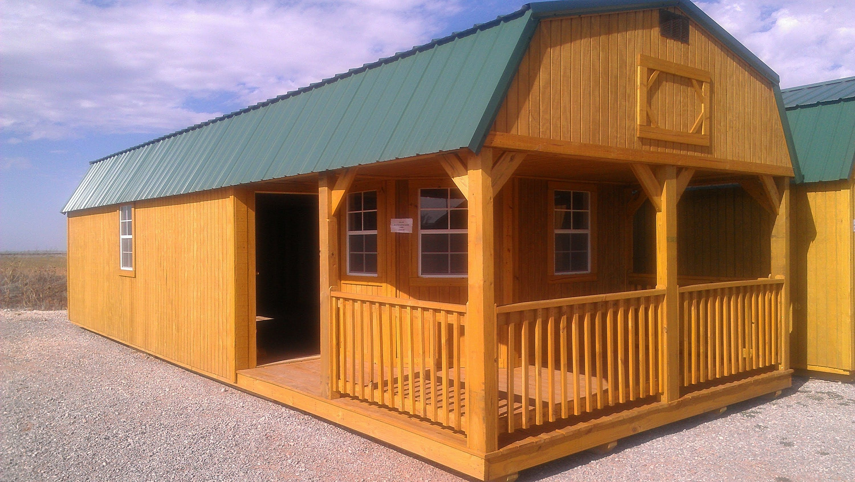 Tiny House Kits Amish Cabin Company Kits Starting At $16350 - TINY ...