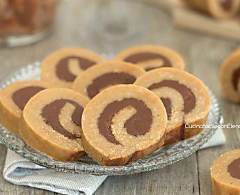 Girelle di biscotti alla Nutella senza cottura e senza burro