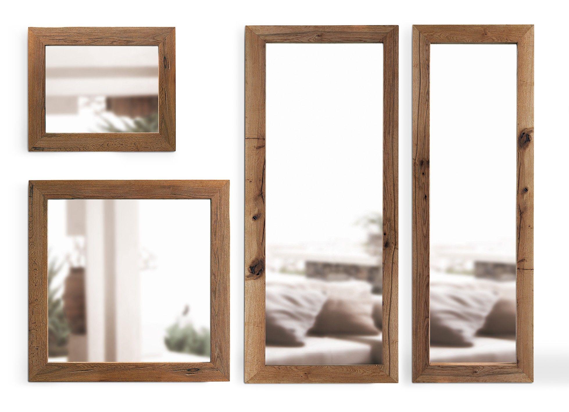 Jetzt bei Desigano.com Mirror Spiegel Set Accessoires, Spiegel, Accessoires, Spiegel aus Holz von Oliver B. ab Euro 2 127,00 € Spieglein, Spieglein an der Wand, wer ist der schönste Spiegel im ganzen Land. Das ist definitiv das Spiegel Set aus hochwertigen Nussbaumholz. Dieses Set besteht aus 4 Spiegel mit jeweils einer Tiefe von 2cm 1x 90x70cm 1x 110x110cm 1x 70x200cm 1x 100x200cm Der Rahmen ist aus wilder Eiche in verschiedenen Farben erhältlich.