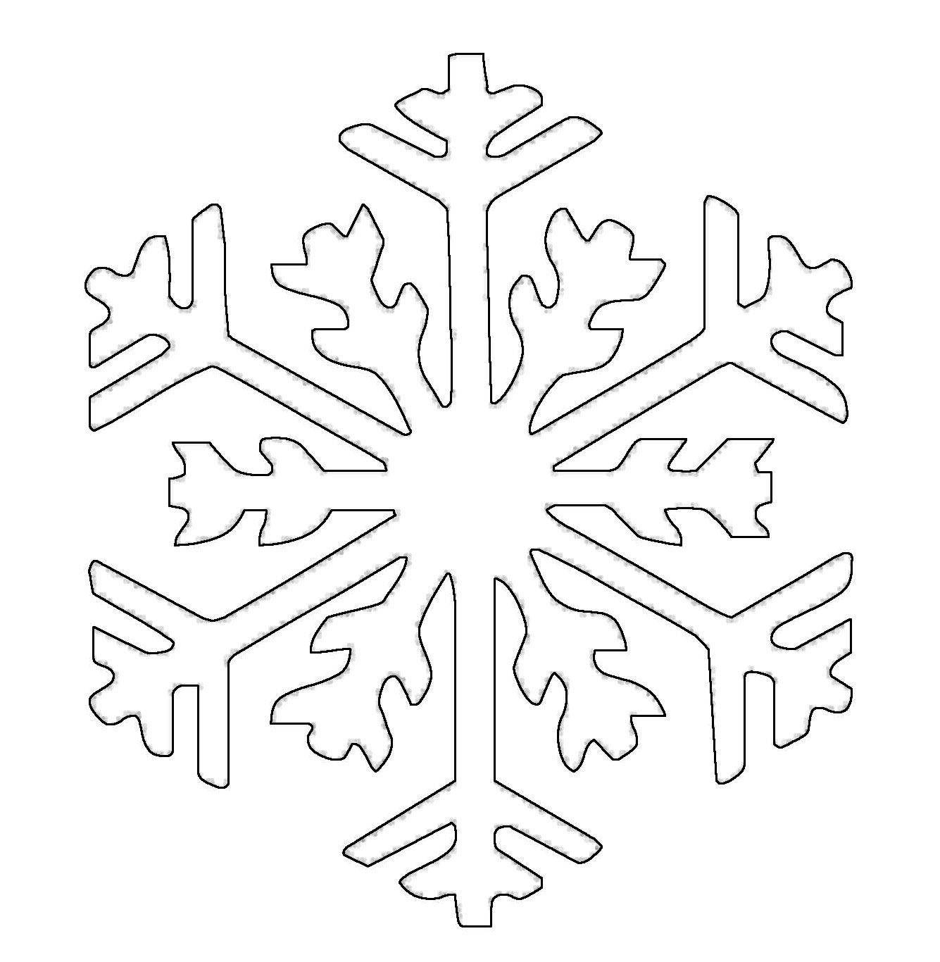 Bildergebnis für schneeflocken malvorlage   Schneeflocken ...