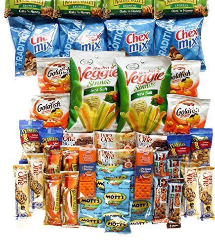 Healthy and Delicious Care Package Box of 40 Items * Click image for more details. (Note:Amazon affiliate link)