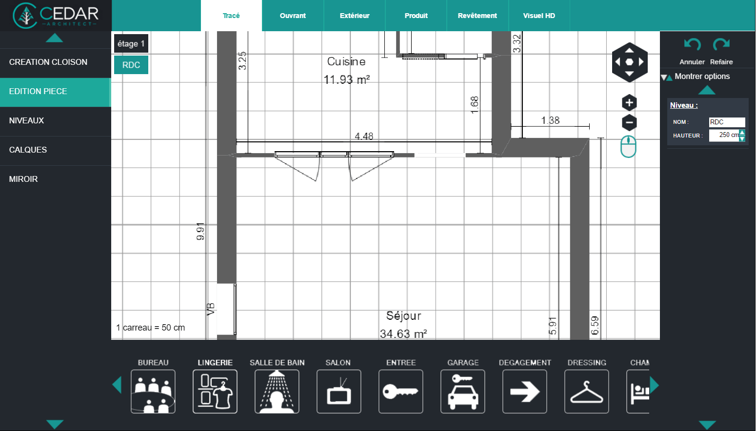 Création De Maison 3D En Ligne   Logiciel Du0027architecture Cedar Architect