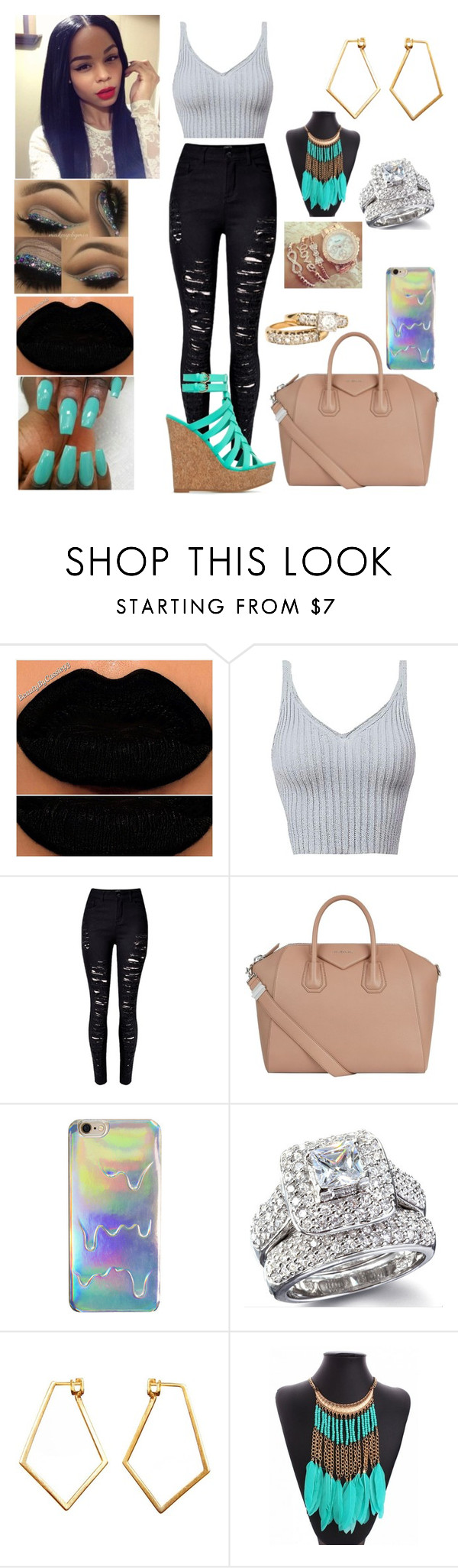 """""""color blocking"""" by virginiababy ❤ liked on Polyvore featuring Givenchy and Dutch Basics"""