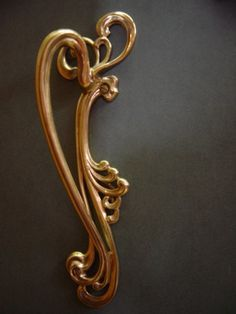 Lovely Art Nouveau Cabinet Hardware