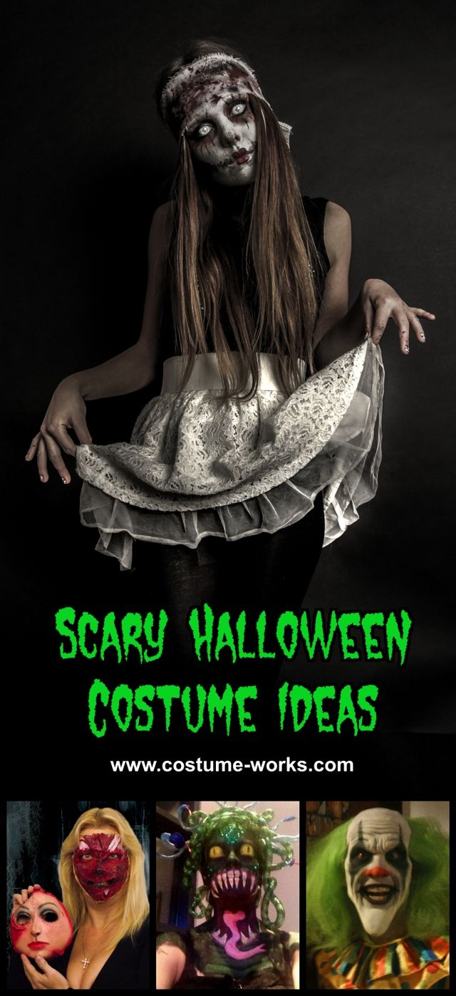 scary halloween costume ideas gruesomely creative costumes - Quick Scary Halloween Costumes