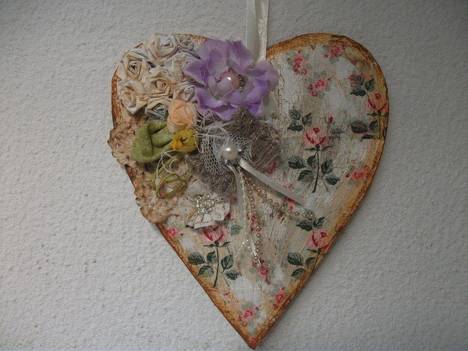 Aparador Zapatero Ikea ~ DIY Faça voce mesma coraç u00e3o vintage de caixa de leite, heart crafts Artesanato Mix Videos e