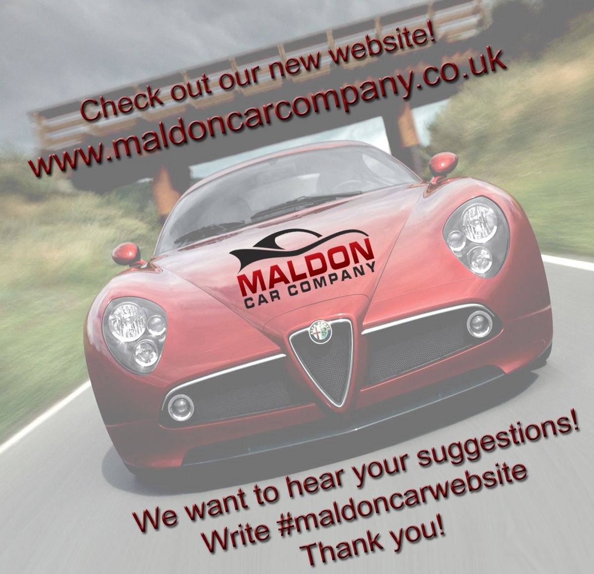 Check out our new maldon car company website http