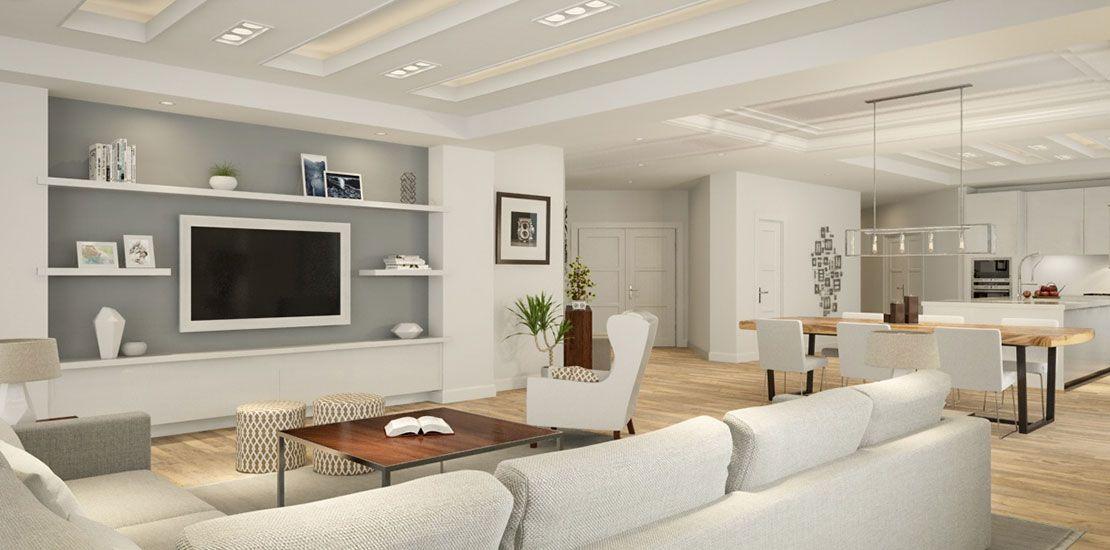 Open Concept Floor Plans Generating Exceptional Conversion Open Concept Floor Plans Living Room Decor Apartment Flooring