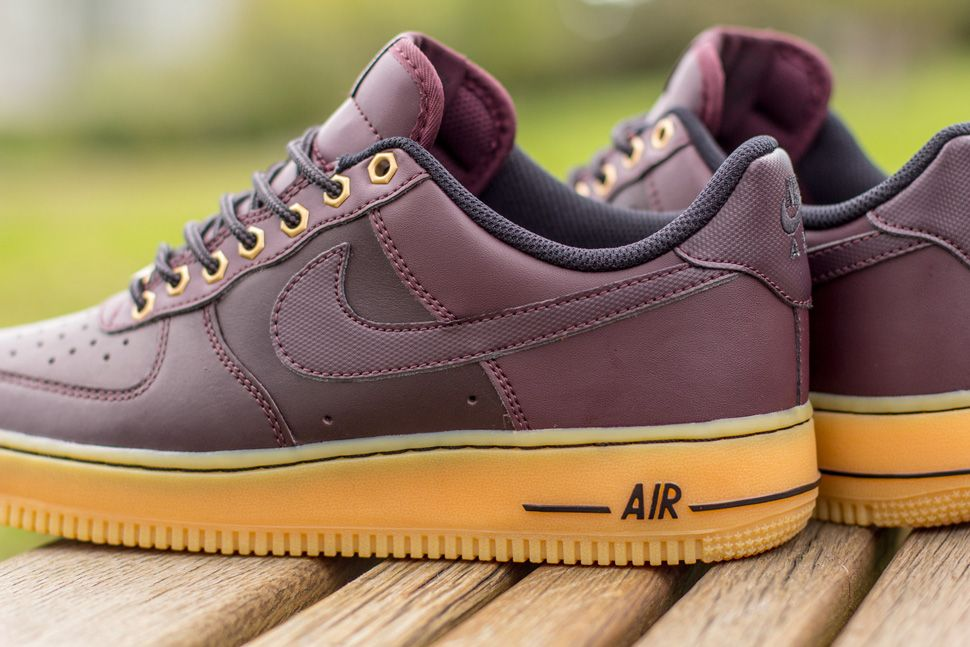 brand new cde9a 65073 Nike Air Force 1 Low Boot Deep Burgundy   Gum