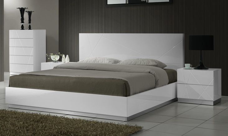 Modern Italian Platform Beds Luxury Leather And Storage Beds