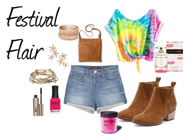 """Festival Flair"" by ermorgan-10 ❤ liked on Polyvore featuring J Brand, Merona, Red Camel, Bonheur, Majique, ORLY, Medusa's Makeup and Benefit"
