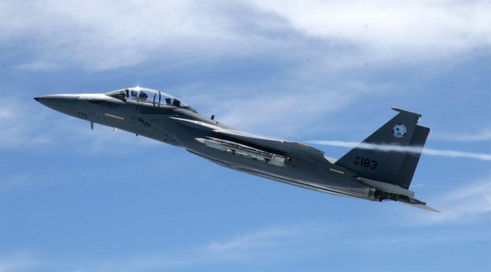 Boeing F-15 Silent Eagle in Flight