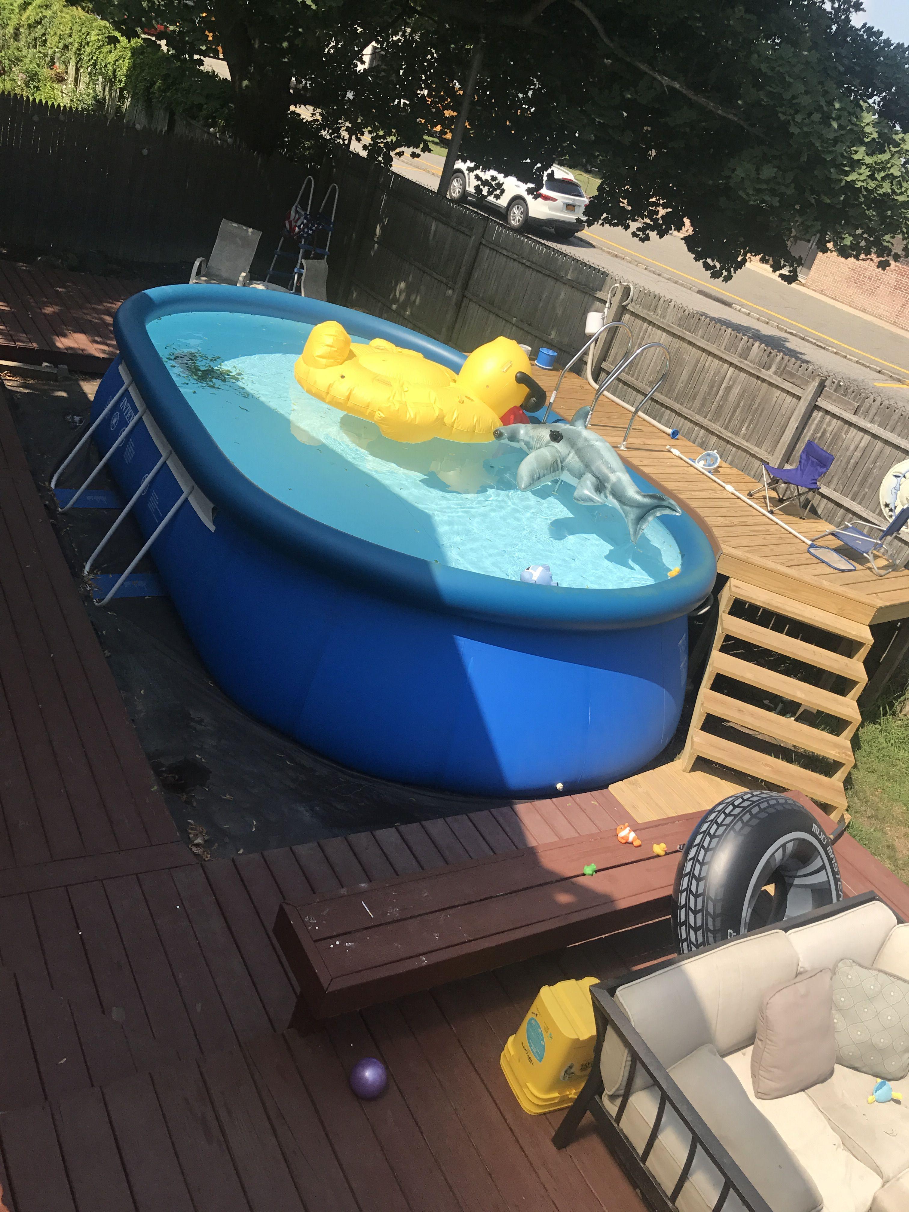 Intex pool so worth the money!! Intex pool, Pool, Above