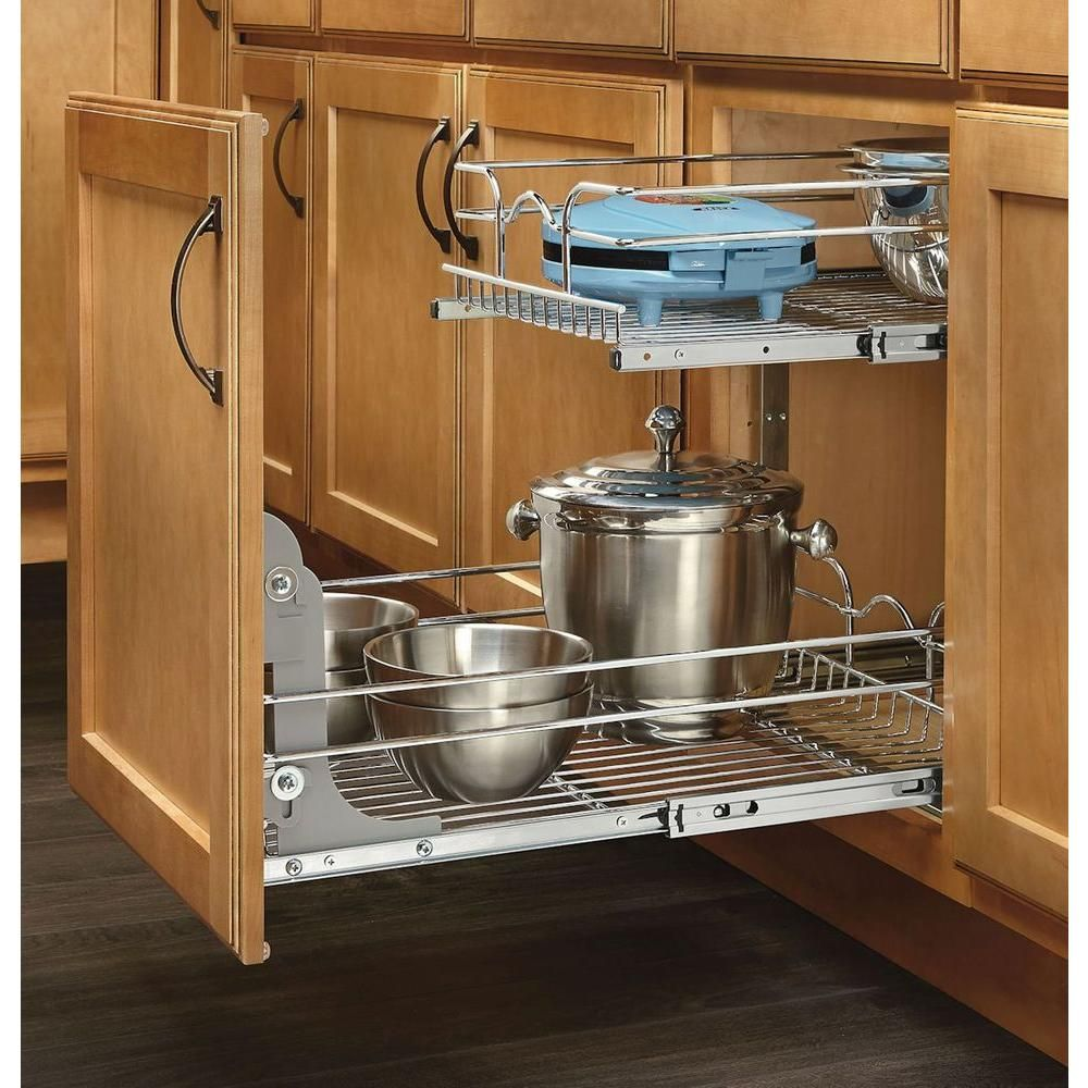 Rev A Shelf 19 In H X 14 75 In W X 22 In D Base Cabinet: Rev-A-Shelf 19 In. H X 20.75 In. W X 22 In. D Base Cabinet