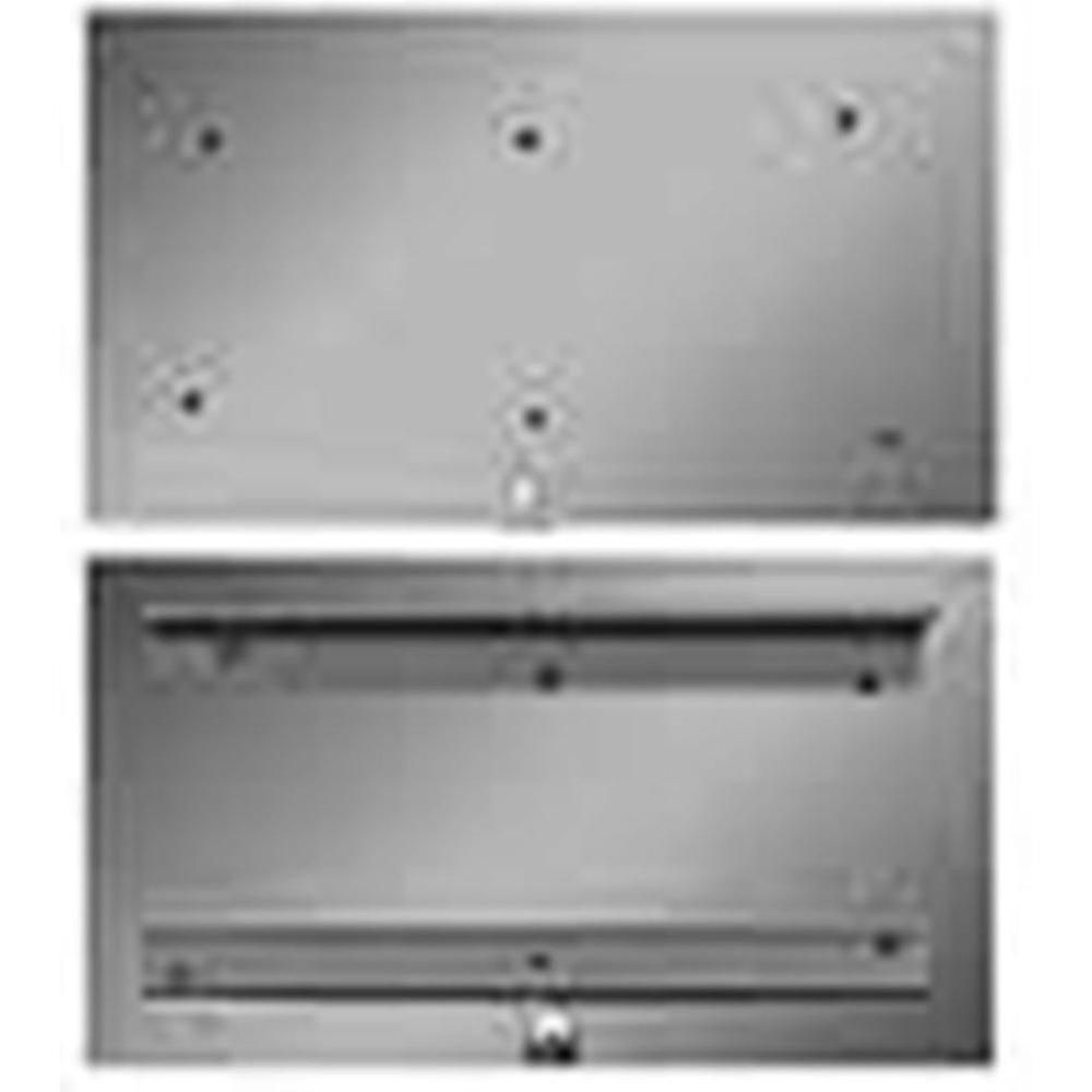 The Forever Cap 4 In X 9 In Stainless Steel Ash Dump Door Steel Home Depot Stainless Steel