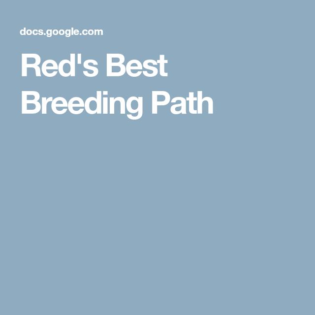red s best breeding
