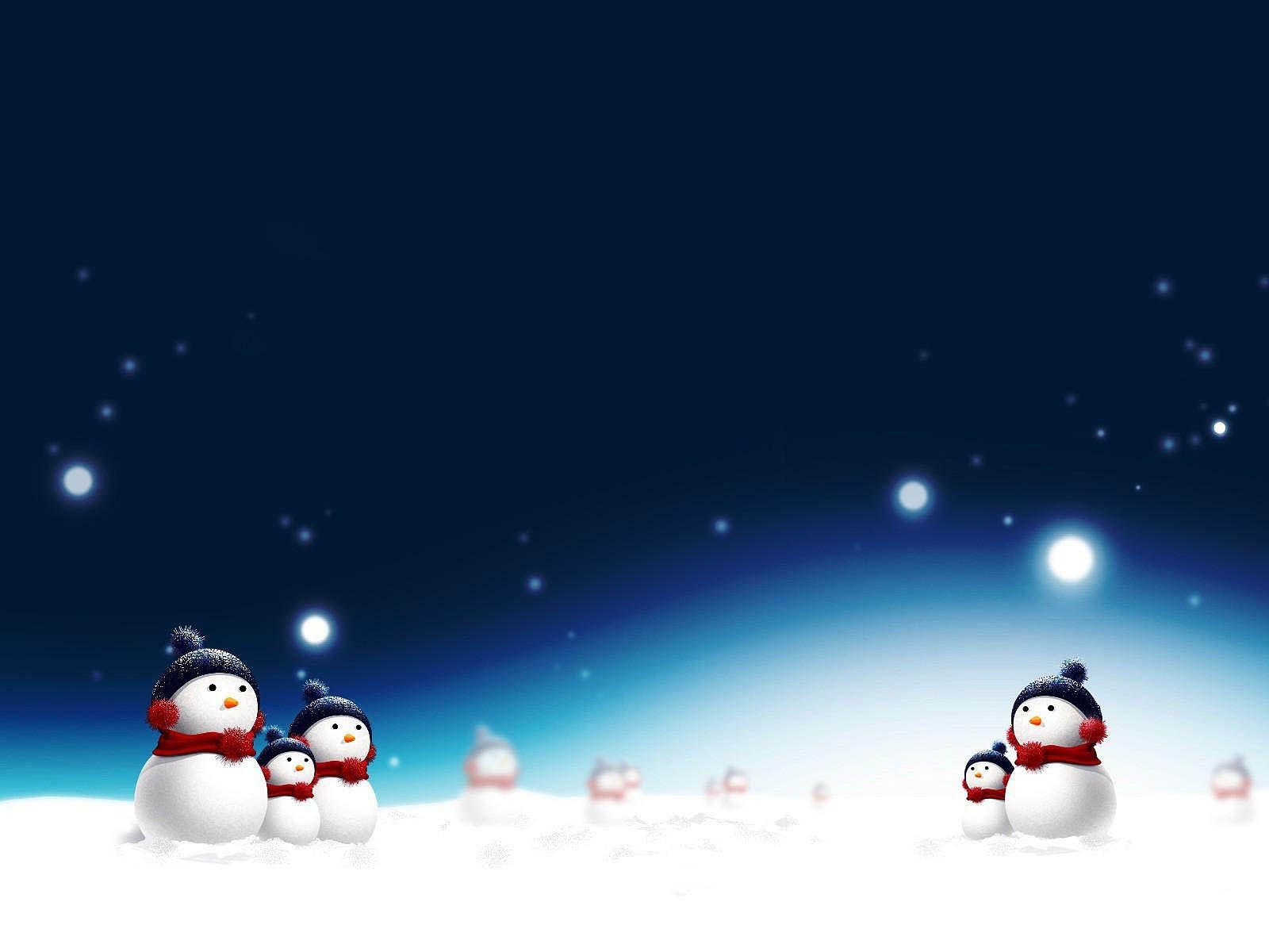 Snowman Desktop Wallpapers Christmas Wallpaper Backgrounds Animated Christmas Wallpaper 3d Wallpaper Christmas