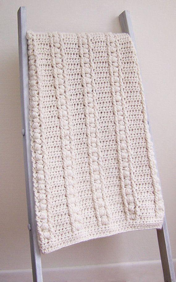 Crochet Baby Blanket Pattern - Baby Afghan - DIY Bulky Blanket - New ...