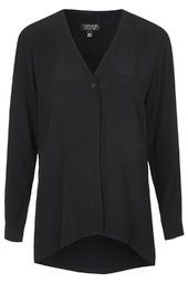 Slouchy Pocket Blouse