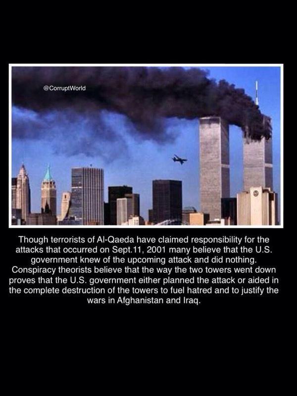 9 11 Conspiracy 911 Theories Inside Job Illuminati Bullshit
