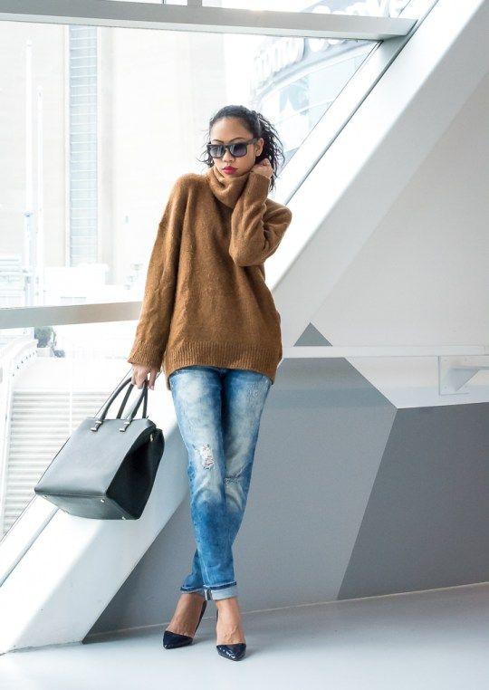 9effafab87f BlasianGurl, Victoria Kristine, Toronto, Fashion Blogger, Style, Toronto  Blogger, Sweater Weather, H&M, Ray-Ban, Mavi, Style Blogger