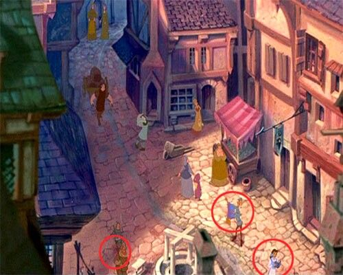 In The Hunchback Of Notre Dame The Magic Carpet From