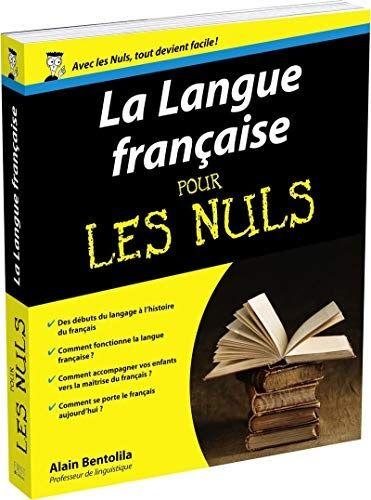 Télécharger La Langue française pour les Nuls Livre PDF author publisher Livres en ligne PDF La ...