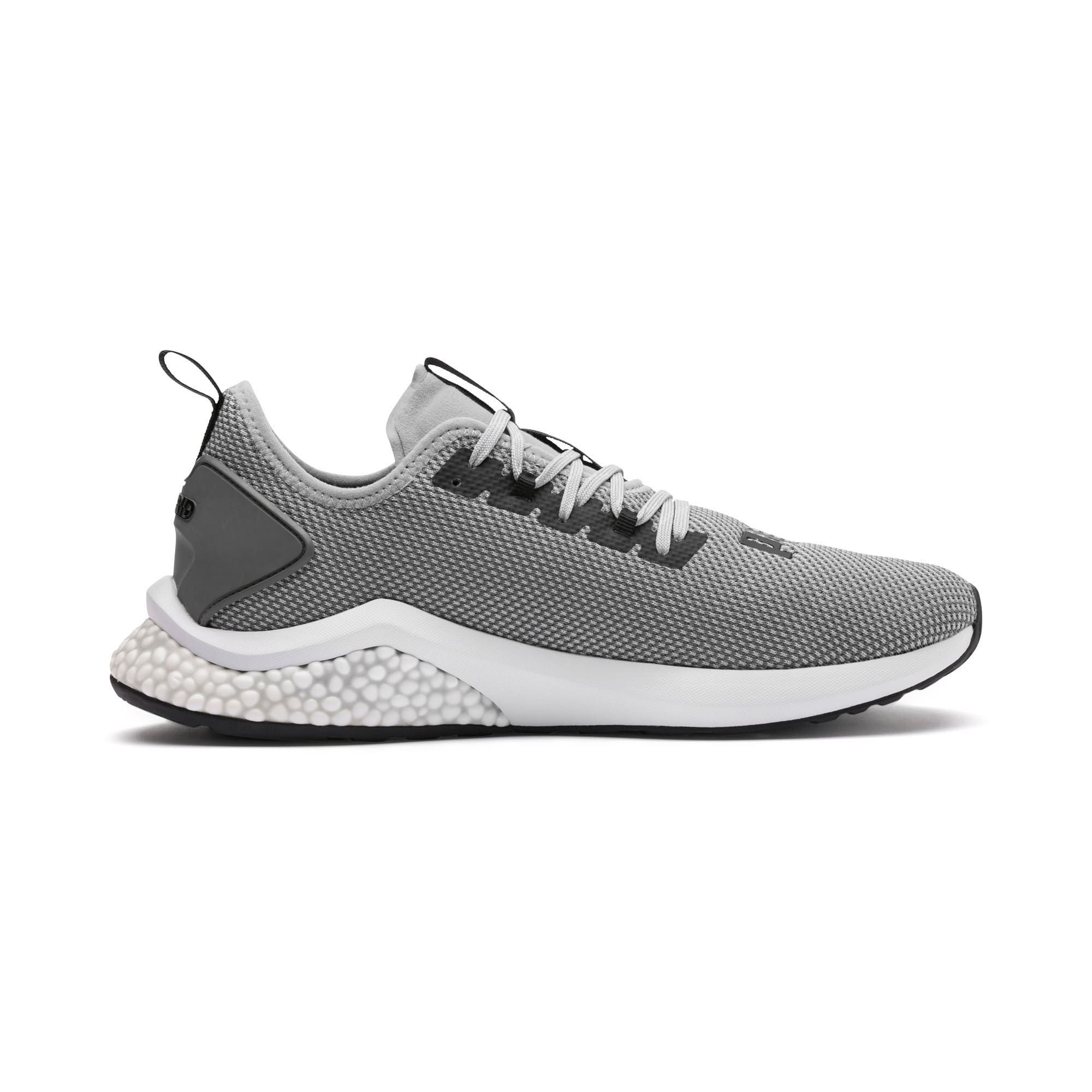 PUMA Hybrid Nx Mens Running Shoes in Quarry Grey size 105