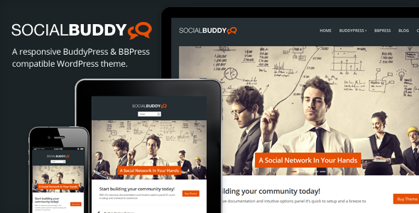 Most Rated Buddy Press Theme List | Blog | Etivy – Web Design hand ...
