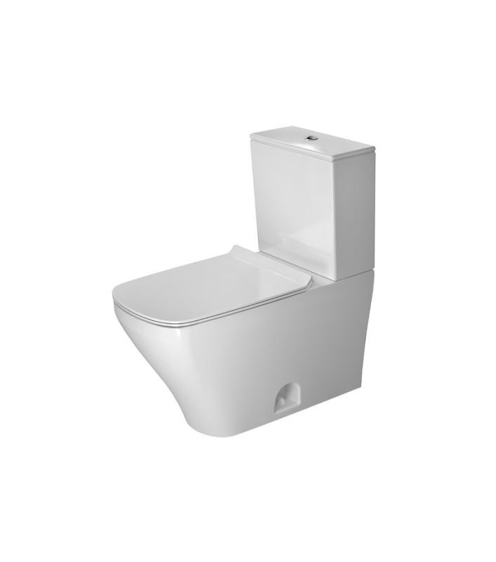 Duravit 2160010000 Durastyle Rectangular Toilet Bowl Only Less Tank And Seat White Fixture Toilet Bowl Only Toilet Smart Toilet