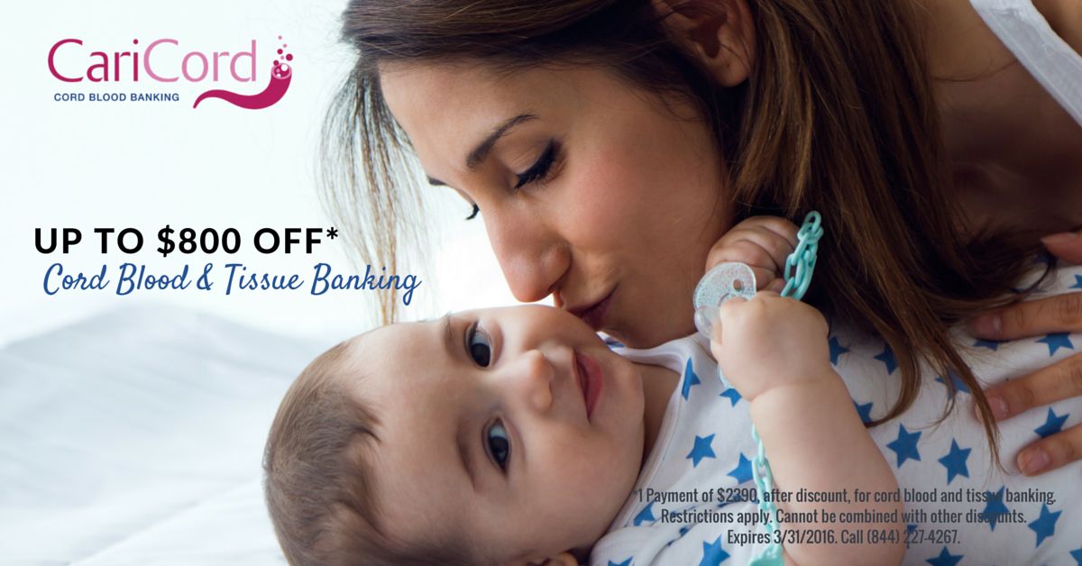 Save Big On Cord Blood And Tissue Banking For Your Baby