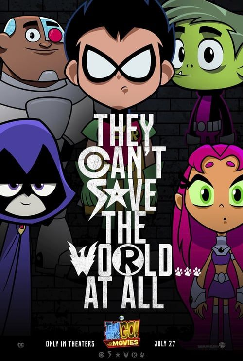 Watch- Teen Titans Go To The Movies 2018 Full - Movie -6839