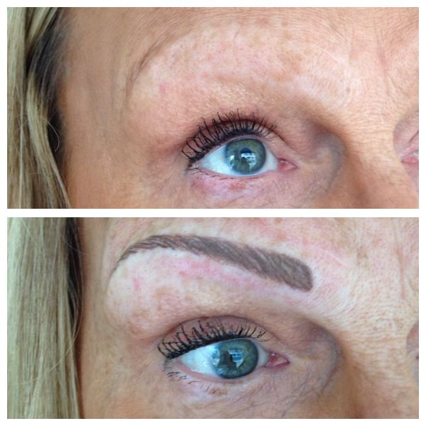 Tattooed eyebrows before and after!! Long lasting makeup # ...