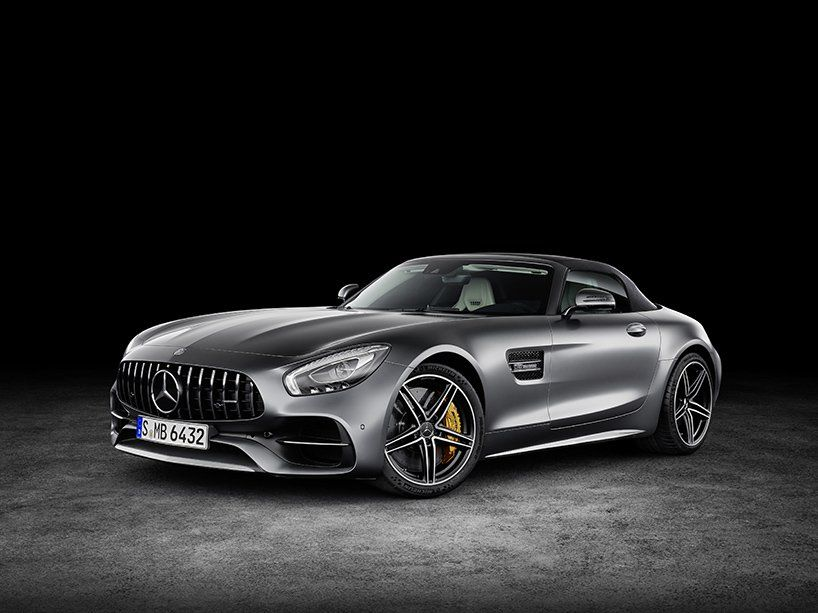 mercedes AMG GT C + GT R are the latest muscular roadsters #mercedesamg