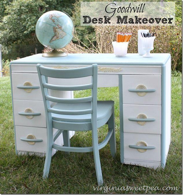 Goodwill Desk Makeover