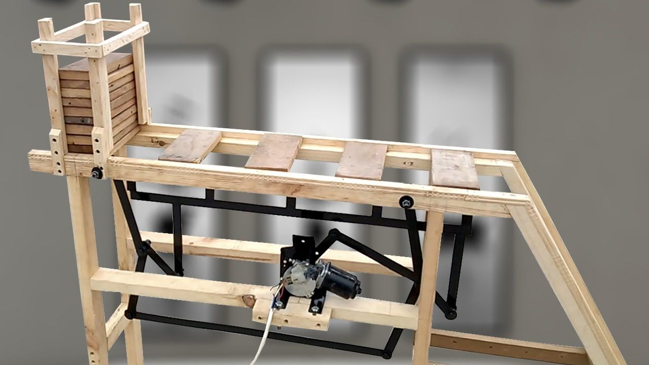 mechanical engineering project box transport mechanism