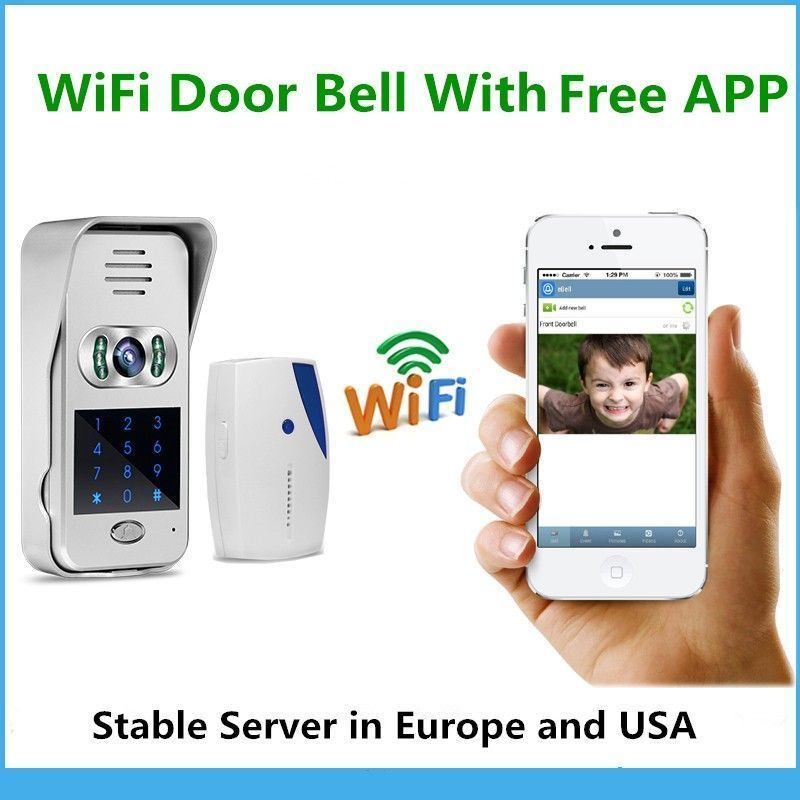 Upgraded Smart Home Security System Wifi Doorbell Camerawifi Video