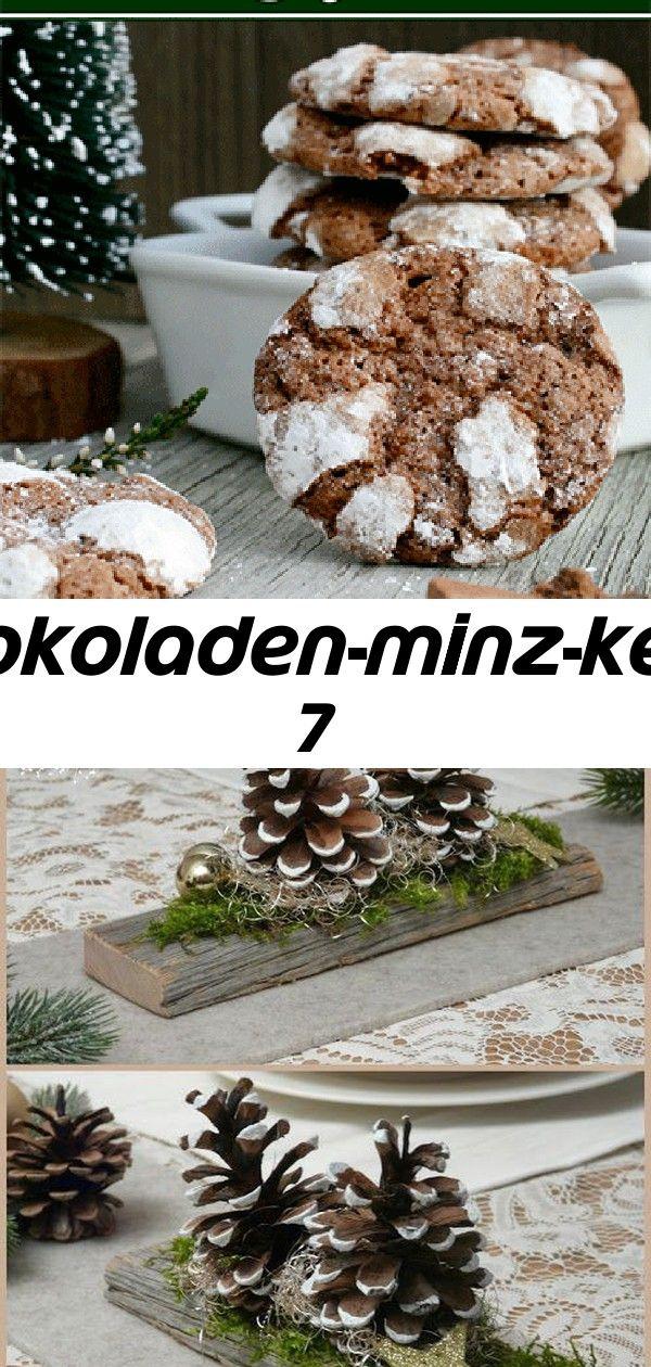 Schokoladen-minz-kekse 7 #weihnachtlichetischdekoration