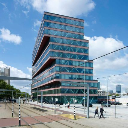 Blaak 31 office bldg in Rotterdam by KCAP Architects