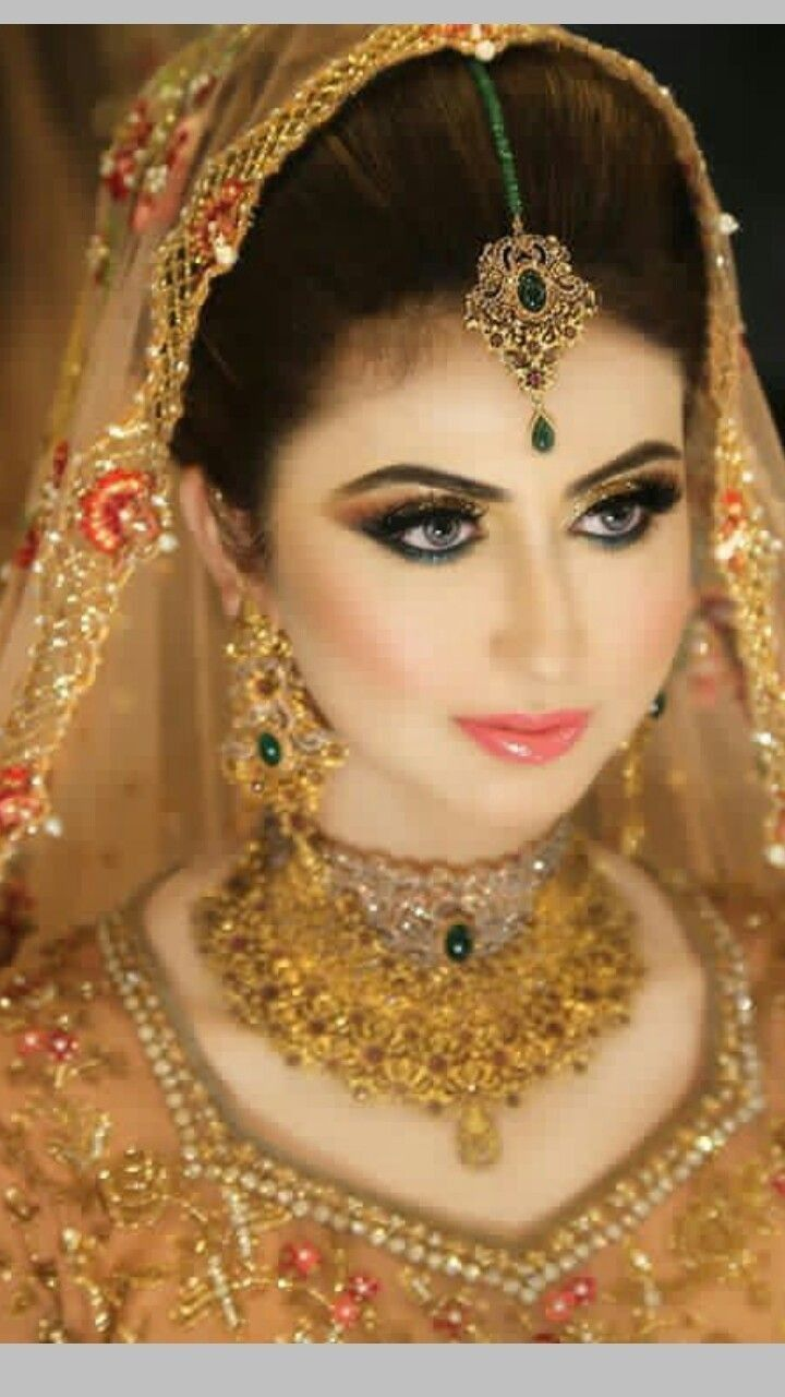 Pin by Suman Zulfiqar on Makeup in 2019 Pakistani bridal