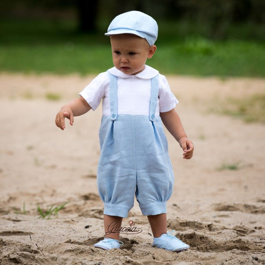 Baby boy newsboy outfit made by Graccia Etsy | ring bearer outfit ...