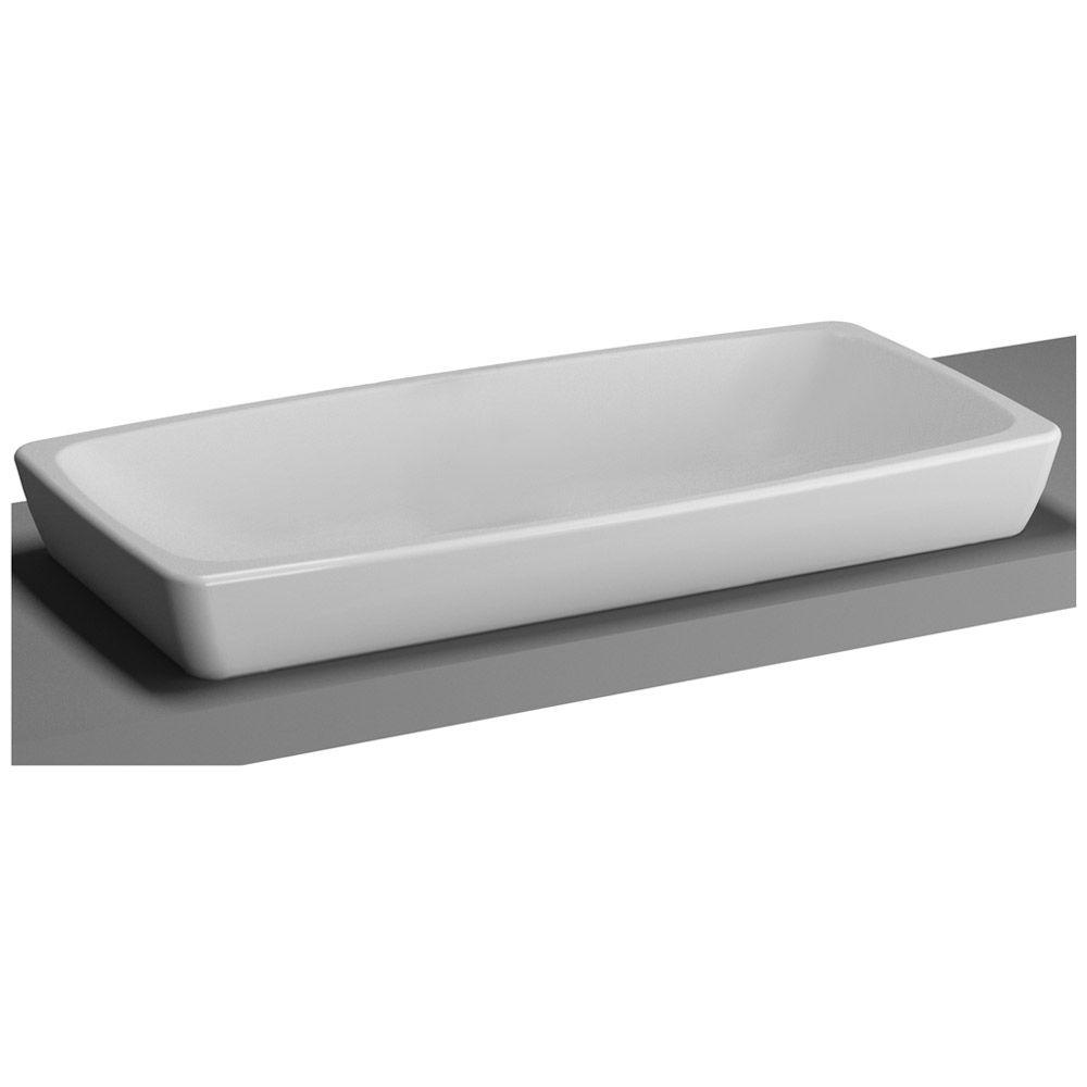Vitra Metropole Aufsatzwaschtisch 80 X 40 Cm Ohne Uberlauf Aufsatzwaschtisch Aufsatz Tisch
