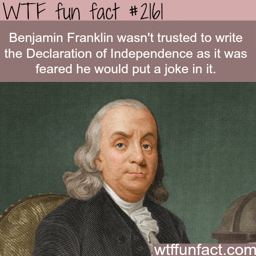 Benjamin Franklins Humor