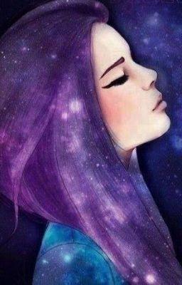 Chica Del Cabello Morado Buscar Con Google Dibujos Pelo De Color Purpura Pelo De Galaxia