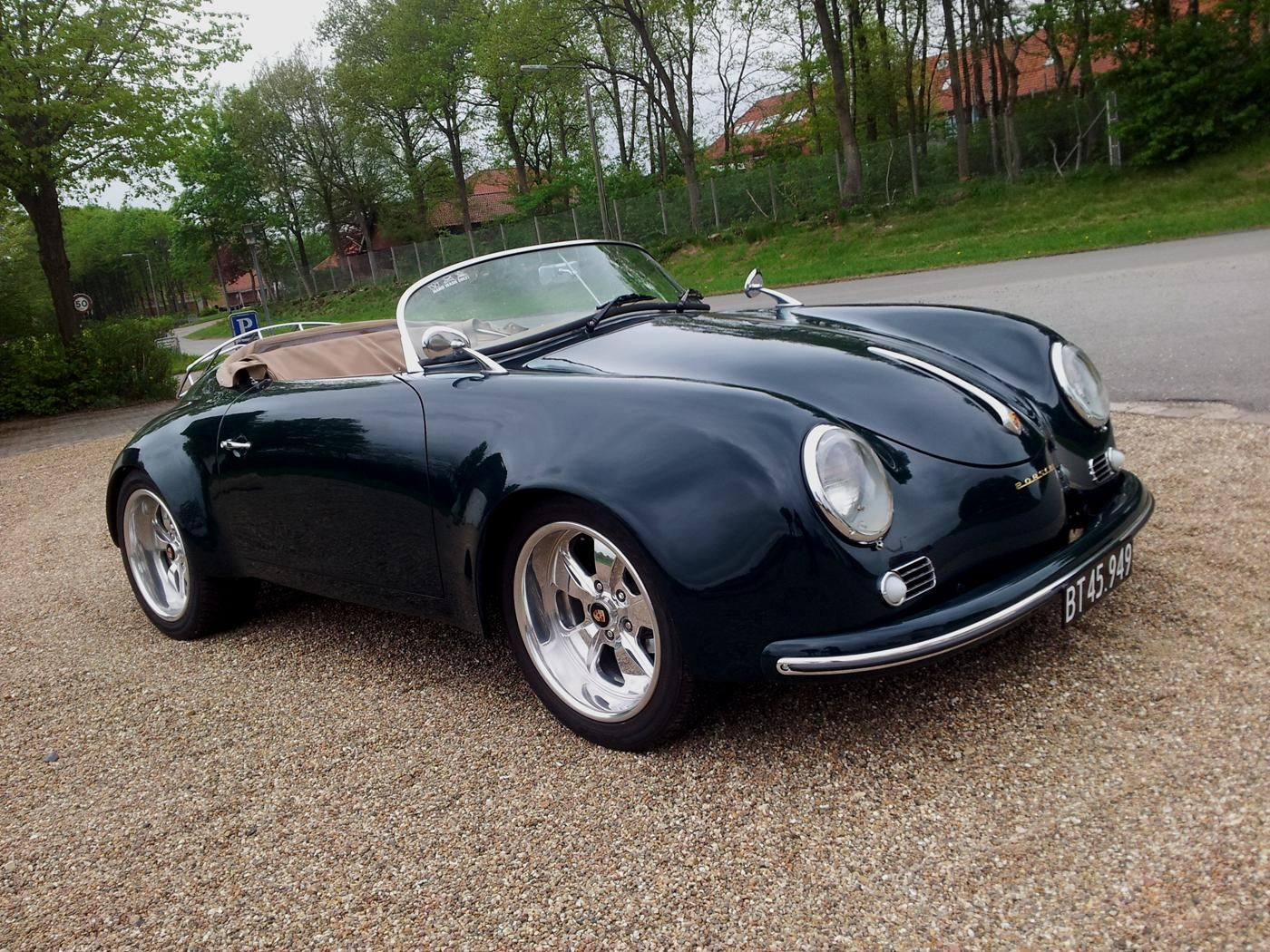 Porsche 356 Wide Body Porsche 356 Speedster Widebody