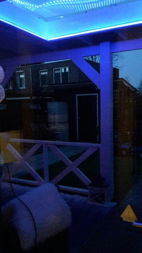 Led verlichting Veranda lichtkoepel | Veranda | Pinterest | Verandas